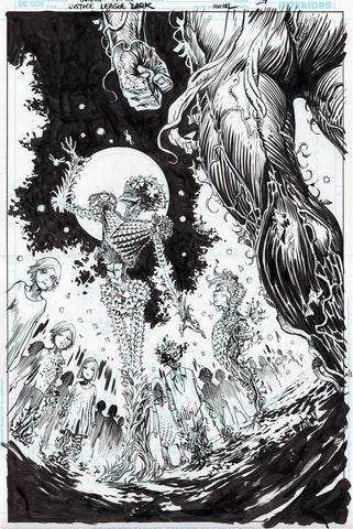 Guillem March Original Art Justice League Dark #1 Page 24