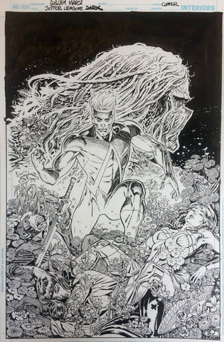 Guillem March Original Art Justice League Dark #20 Cover