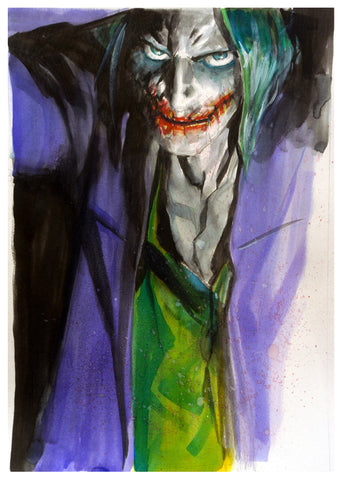 Gerald Parel Original Art Joker Smile Collection (Including FREE Smile Portfolio)