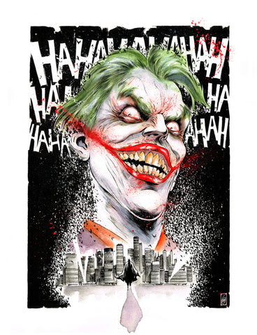 Gianluca Gugliotta Original Art Painting Joker