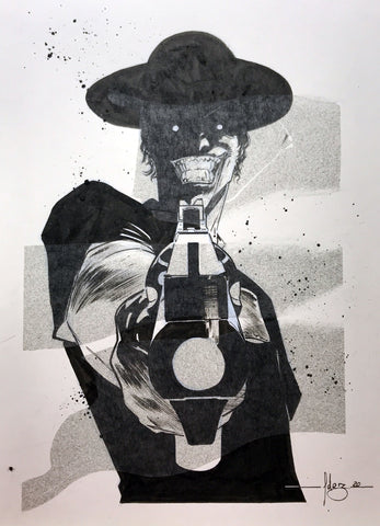 Javier Fernandez Original Art Joker Illustration