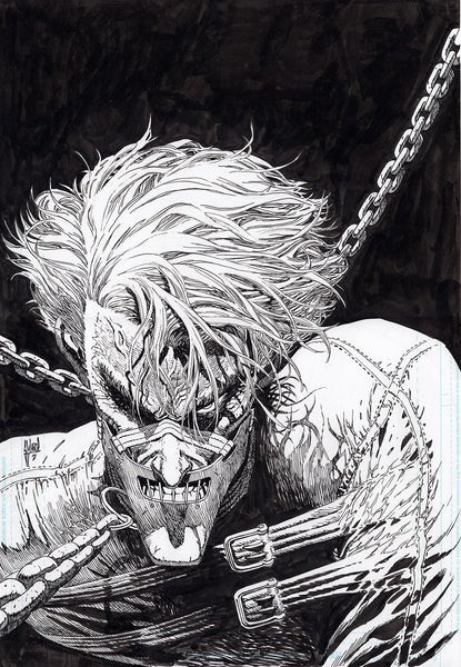 Guillem March Original Art Joker #5 Cover