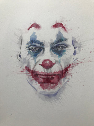 David Mack Original Art Joker Movie Illustration