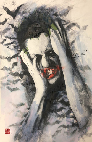 Zu Orzu Original Art Joker Smile Collection