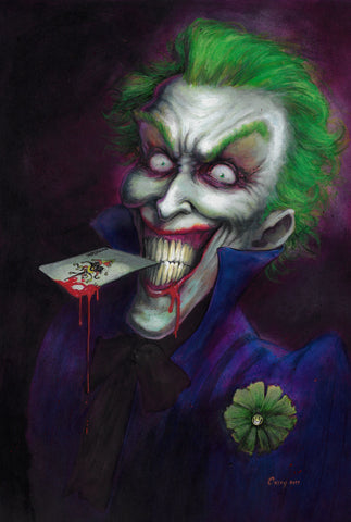 Casey Parsons Original Art Painting Joker
