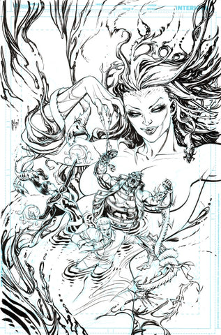 Guillem March Original Art Justice League Dark #39 Cover