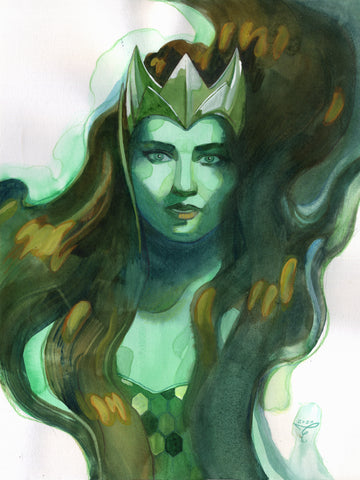 Clara Tessier Original Art Mera Illustration