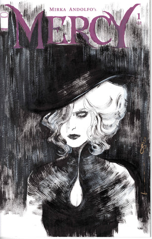 Helena Masellis Original Art Mercy Blank Cover