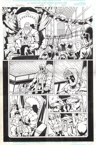 Paco Diaz Original Art Deadpool #34 Page 13