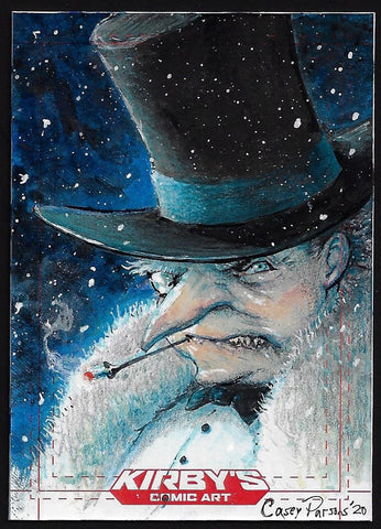 Penguin 'Rogues Collection' by Casey Parsons Sketchcard