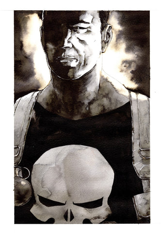 Guillaume Martinez Original Art Punisher Illustration