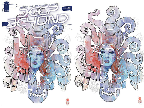 Deep Beyond #1 BCC Exclusive Trade Dress & Virgin Two Cover Set by David Mack