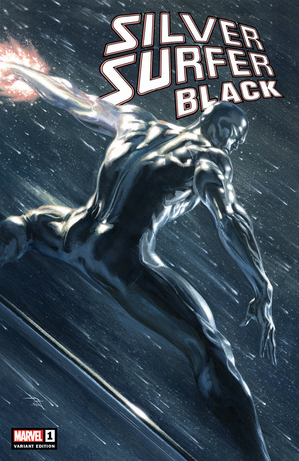 Silver Surfer Black #1 Trade Dress Cover by Gabriele Dell'Otto
