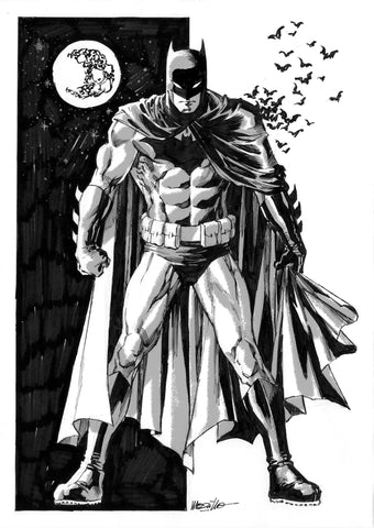 Jesus Merino Original Art Batman DC Concept Illustration 1