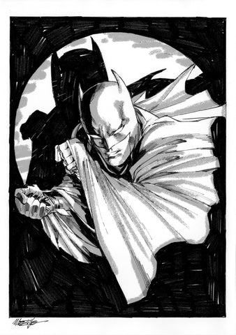 Jesus Merino Original Art Batman DC Concept Illustration 3