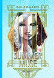 SIGNED & ORIGINAL ILLUSTRATION 2 Hardback Summer Muse Volume 1 by Guillem March
