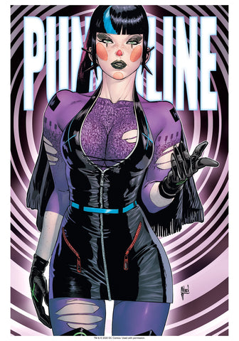 "Guillem March Punchline NYCC Metaverse 14x20"" Limited Edition Giclee"