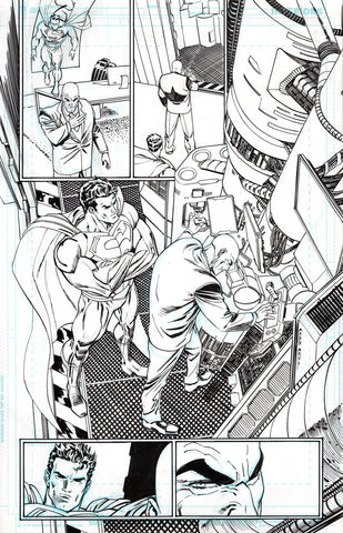 Guillem March Original Art Action Comics #985 Page 12