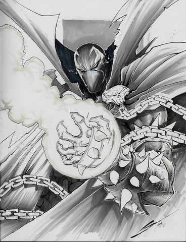 Gerardo Sandoval Original Art Spawn Torso Illustration