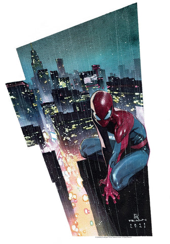 "Dike Ruan Spider-Man 14x20"" Limited Edition Giclee"