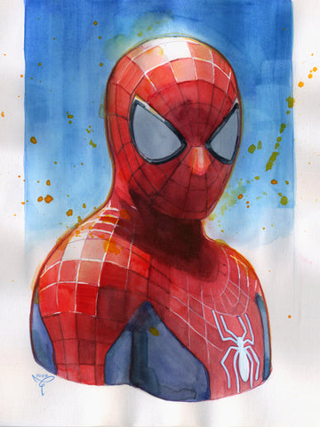 Clara Tessier Original Art Spider-Man Illustration