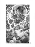 Pepe Valencia Original Art Storm Graphite Illustration