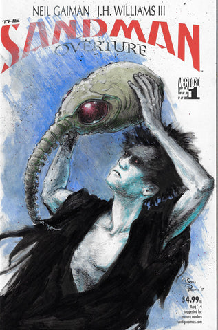 Casey Parsons Original Art Dream Sandman Blank Cover