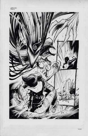 Gerardo Sandoval Original Art Absolute Carnage Scream #2 Page 4