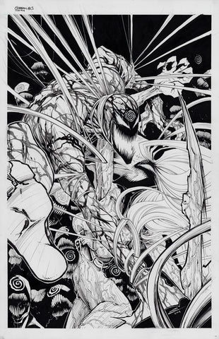 Gerardo Sandoval Original Art Absolute Carnage: Scream #3 Cover