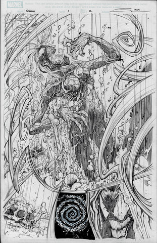 Gerardo Sandoval Original Art Absolute Carnage Scream #1 Page 2