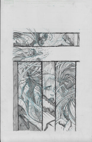 Gerardo Sandoval Original Art Absolute Carnage Scream #1 Page 5