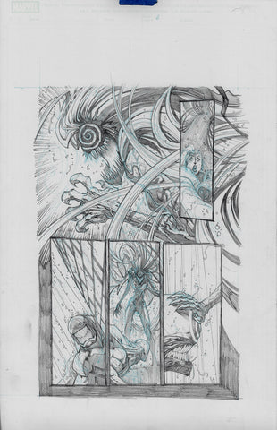 Gerardo Sandoval Original Art Absolute Carnage Scream #1 Page 6