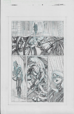 Gerardo Sandoval Original Art Absolute Carnage Scream #1 Page 8