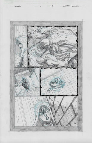 Gerardo Sandoval Original Art Absolute Carnage Scream #1 Page 9