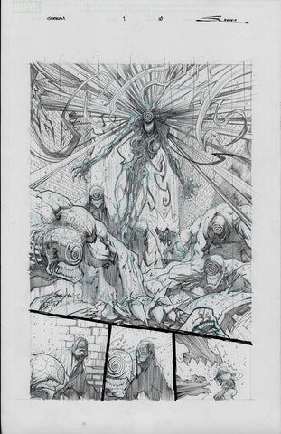 Gerardo Sandoval Original Art Absolute Carnage Scream #1 Page 10