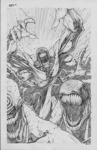 Gerardo Sandoval Original Art Absolute Carnage Scream #1 Page 11