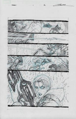 Gerardo Sandoval Original Art Absolute Carnage Scream #1 Page 12
