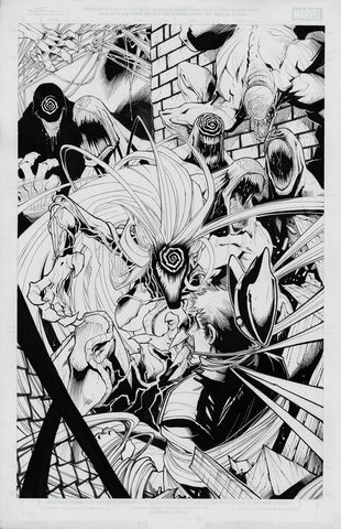 Gerardo Sandoval Original Art Absolute Carnage: Scream #2 Cover