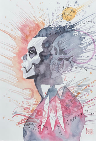 David Mack Original Art Shadowman #1 Cover