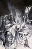 Paul Renaud Original Art Suicide Squad #6 New 52 Cover