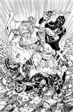 Jesus Merino Original Art Supergirl #34 Cover