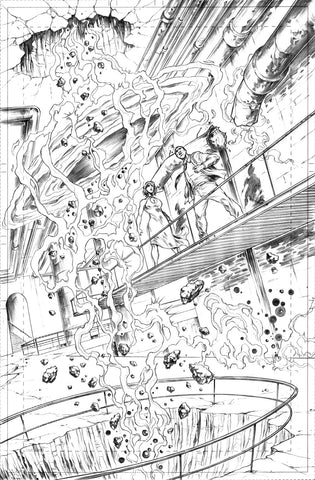 Gianluca Gugliotta Original Art Mister Terrific #2 Page 6
