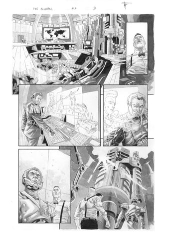Francesco Mobili Original Art Scumbag #7 Page 3