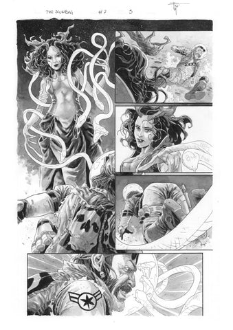 Francesco Mobili Original Art Scumbag #7 Page 5
