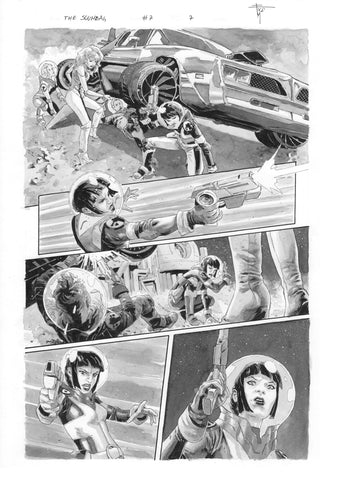 Francesco Mobili Original Art Scumbag #7 Page 7