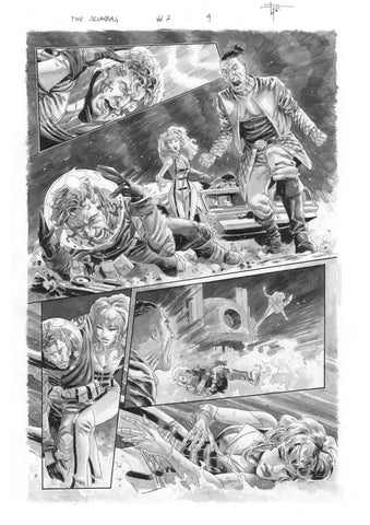 Francesco Mobili Original Art Scumbag #7 Page 9
