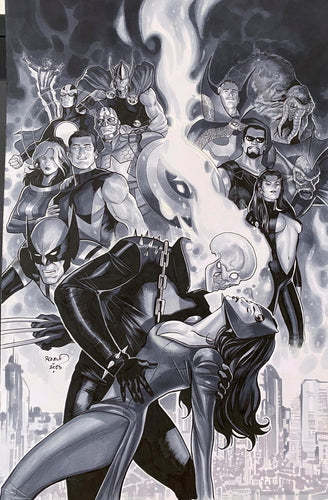 Paul Renaud Original Art Uncanny Avengers Annual #1 Cover