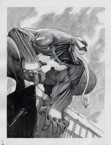 Gerardo Sandoval Original Art Venom Illustration