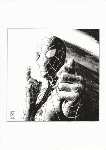 Valerio Giangiordano Original Art Spider-Man Illustration