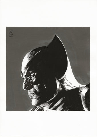 Valerio Giangiordano Original Art Wolverine Illustration